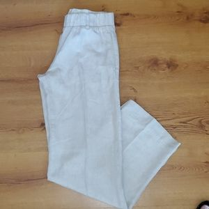Cloth & Stone linen anthropologie pants size small